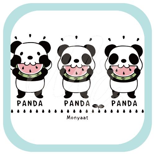 CT169 ズレぱんだちゃんとTWIN PANDAS イラスト Tシャツ トリニティ リンク