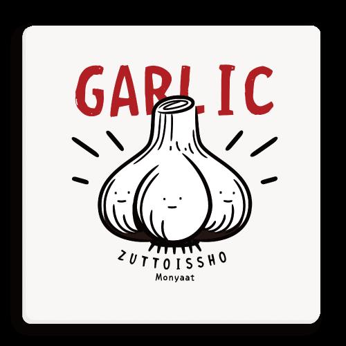 食べ物 キャラクター キャラ スパイス スタミナ ニンニク にんにく ガーリック garlic