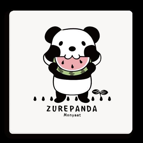 ズレちゃんとTWIN PANDAS*B パンダ 動物 キャラクター キャラ パンダTシャツ ズレぱんだ パンダキャラ 双子ちゃん ズレちゃん 双子パンダ