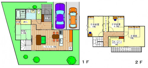 グレバリータウン東長崎(3号地)4LDK 4,150万円(税込)8%.JPG