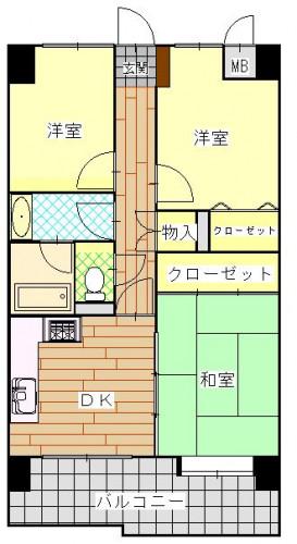 ダイアパレス住吉 クリフ 800万円.JPG