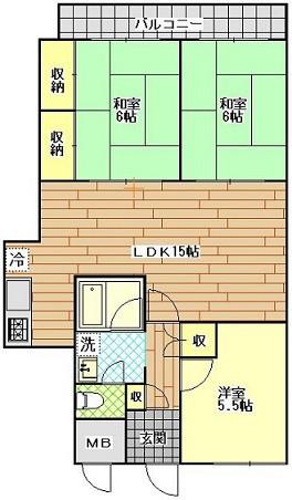 トーカンマンション滑石 102号室 1250万円.JPG