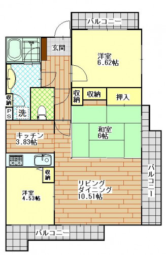 ビバシティ新大工 902号室 .JPG