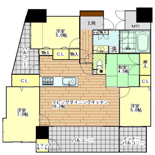 エイルマンション赤迫601号室.JPG
