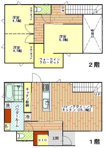 タウンコート矢の平 B号地 新築参考プラン(チラシ用).JPG