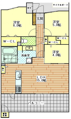 エイルマンション文教 203号室 3,350万円.JPG