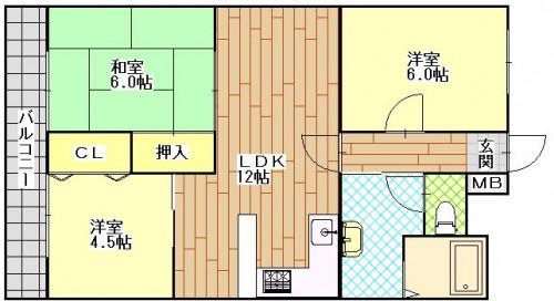 ボンヌール葉山 703号室 0778.JPG