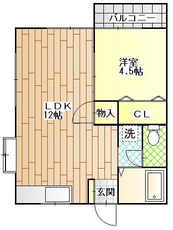 ペディメントM 201号室.JPG