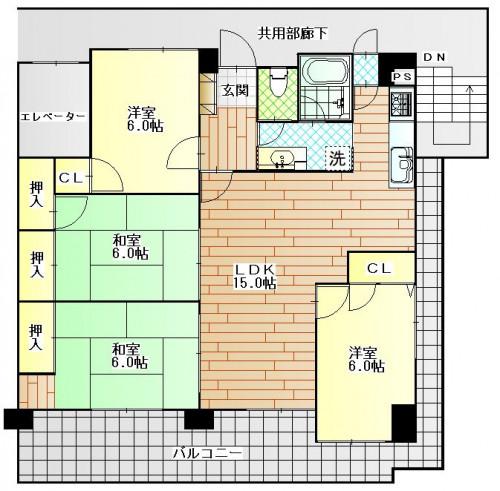 ハイドランジェ高田駅 201号室.JPG