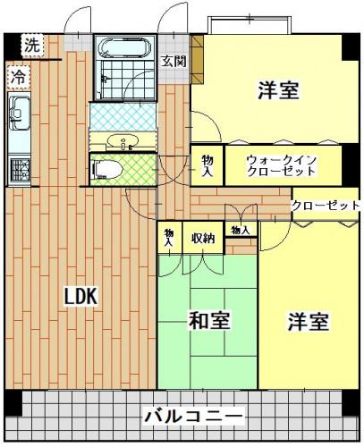 ソフィア三景台 103号室.JPG
