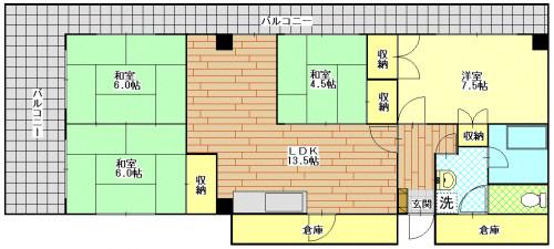 シャトー幸 301号室 .GIF