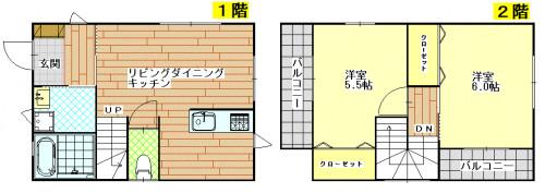 東小島新築戸建てプラン2LDK.GIF