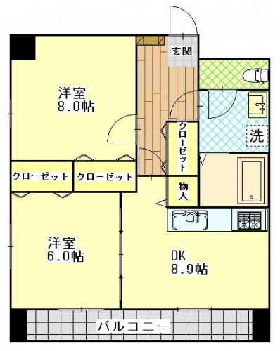 コーポエビス 403号室 1680万円.JPG