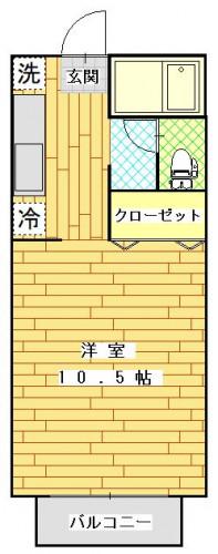 コンフォートTANAKA101号室.JPG
