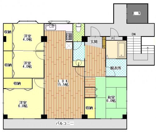 エクセルコート葉山 5階.JPG