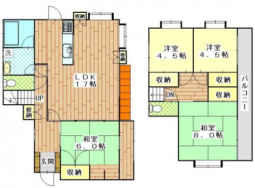 かき道4丁目(若杉邸)1800万円4LDK.JPG