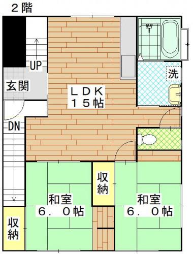 香焼町(関邸)2階.JPG
