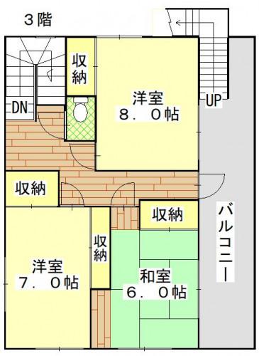 香焼町(関邸)3階.JPG