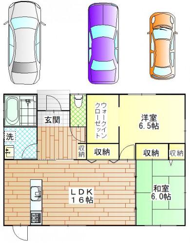 横尾3丁目新築プラン(平屋2LDK.JPG