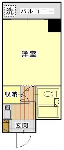 ホワイトパレス長崎 203号室.JPG