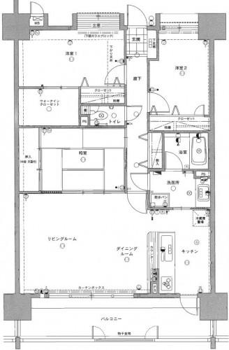 マリナシティ間取り(図面).JPG