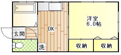 シャトー永橋 101号室.JPG
