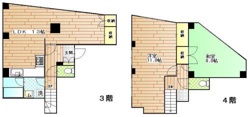 北部産業ビル3階4階メゾネット 5.9万円.JPG