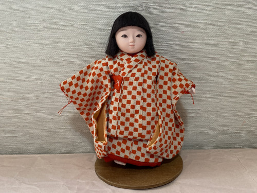 3号 市松人形