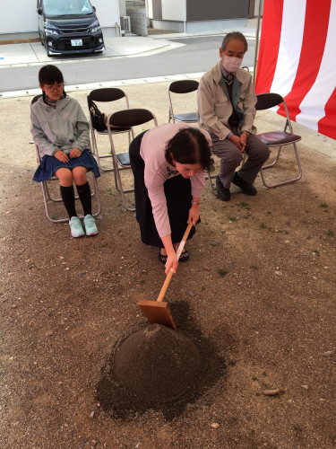 【現場レポート】小松島市I様邸の地鎮祭を行いました!