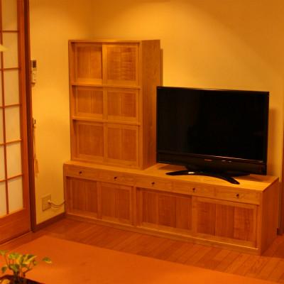 京都 本棚兼TVボード S