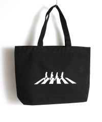 Abbey Road Silhouette Tote Bag Black.jpg