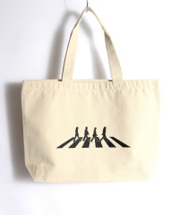 Abbey Road Silhouette Tote Bag White.jpg