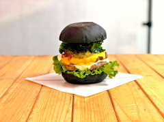 ○ double cheese burger  ¥1,200