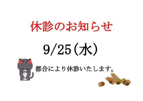 休診のお知らせ201909.jpg