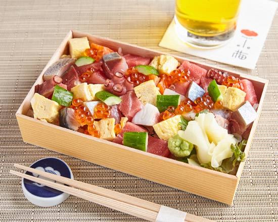 小梅バラちらし寿司