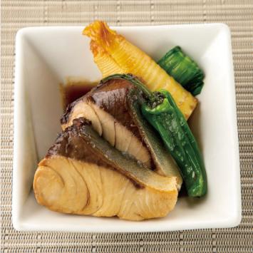 鮮魚の焼煮つけ