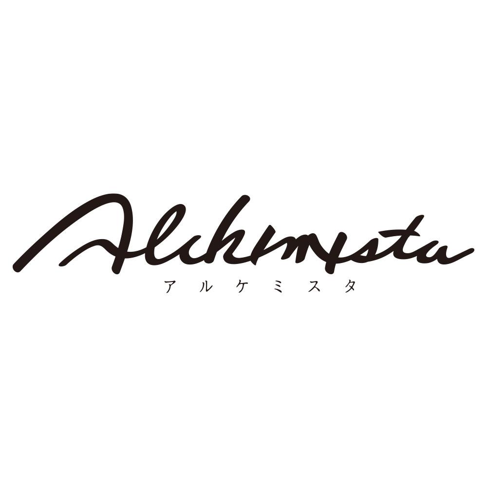アルケミスタのロゴデザイン