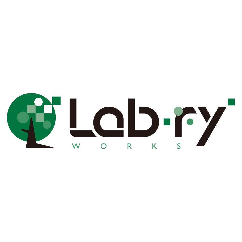 Lab-ry Worksのロゴデザイン