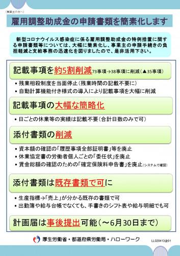 別添3「雇用調整助成金の申請書類簡素化リーフレット」_page-0001.jpg